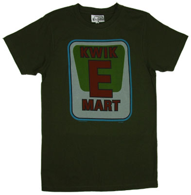 Kwik-E-Mart Logo - Simpsons Sheer T-shirt