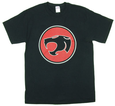 Thundercat Mesh Logo - Thundercats T-shirt