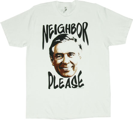 Neighbor Please - Mr. Rogers Sheer T-shirt