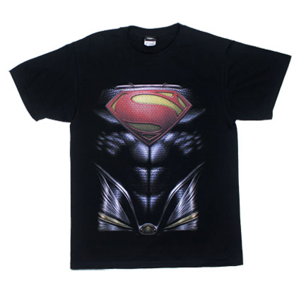 Superman's Chest - Man Of Steel T-shirt