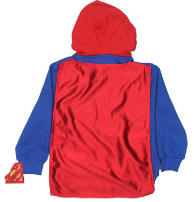 Superman Costume - DC Comics Juvenile And Toddler Hooded Sweatshirt