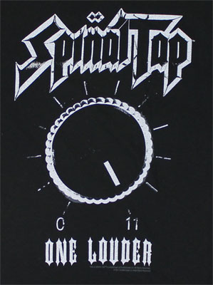 SPINAL TAP ONE LOUDER MENS TEE