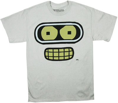 Bender Face - Futurama T-shirt