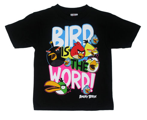 Bird Is The Word! - Angry Birds Juvenile T-shirt