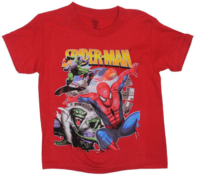 Getting Chased - Spider-Man Juvenile T-shirt