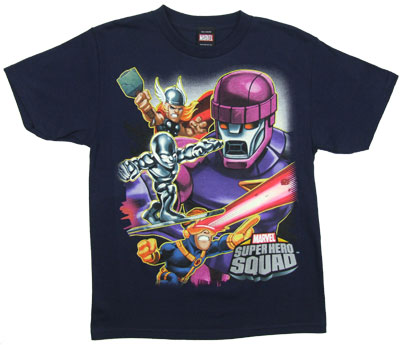 Sentinal - Marvel Superhero Squad Youth T-shirt