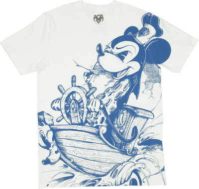 Steam Boat - Bloc 28 - Disney Sheer T-shirt