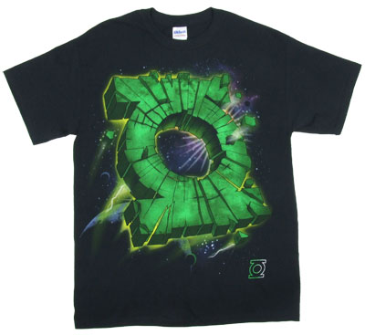 Lantern Meteor - DC Comics T-shirt