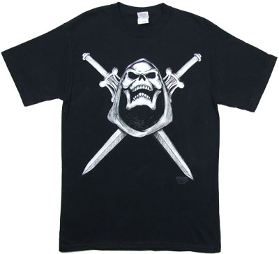 Skeletor Skull And Swords - He-Man T-shirt
