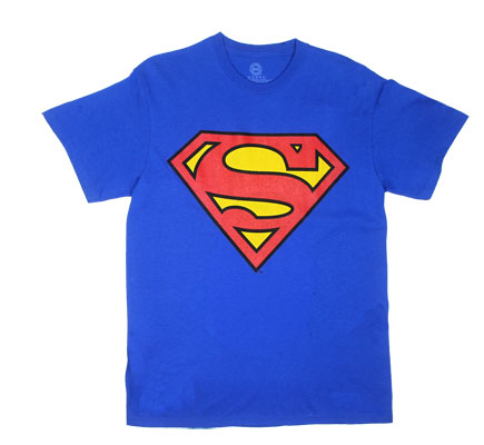 Superman Logo And Face - DC Comics T-shirt