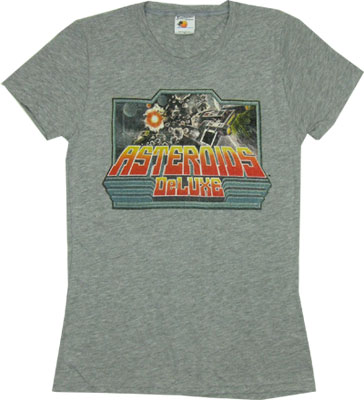 Asteroids Deluxe - Atari Sheer Women&#039;s T-shirts