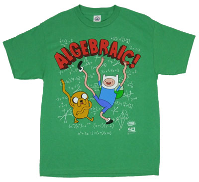 Algebraic - Adventure Time T-shirt