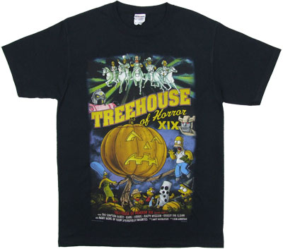 Treehouse Of Horrors XIX - Simpsons T-shirt