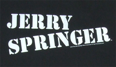 Jerry Springer T-shirt