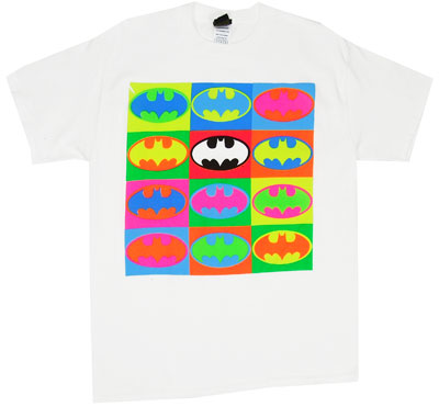 Batman Logo Pop Art - DC Comics T-shirt