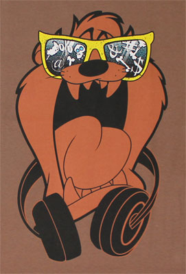 DJ Taz - Looney Tunes T-shirt