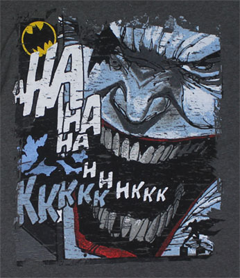 Joker Face - DC Comics T-shirt