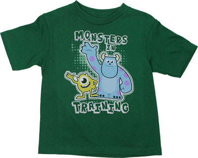 Monsters In Training - Monsters Inc Toddler T-shirt