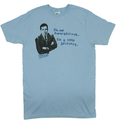I&#039;m Not Superstitious - The Office Sheer T-shirt