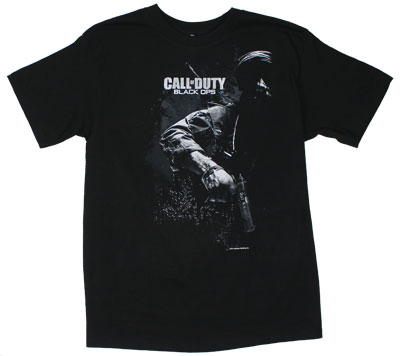 Masked Soldier - Call Of Duty Black Ops T-shirt