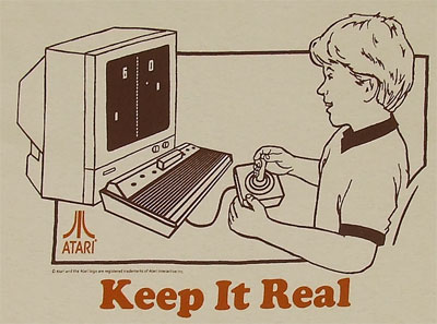 Keep It Real - Atari T-shirt