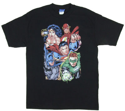 Break Free - Justice League - DC Comics T-shirt