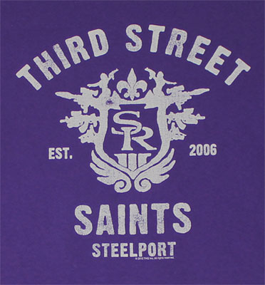 Third Street - Saints Row The Third T-shirt