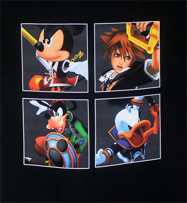 The Four Kings - Kingdom Hearts T-shirt