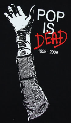 Pop Is Dead - Michael Jackson T-shirt