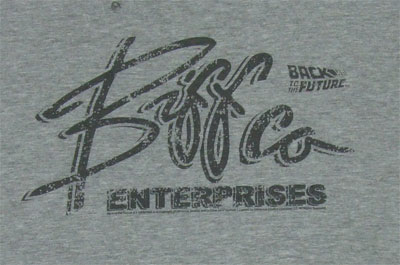 Biffco Enterprises - Back To The Future Sheer T-shirt