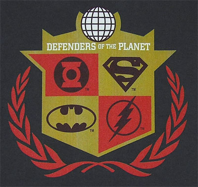 Defenders Of The Planet - Justice League - DC Comics T-shirt