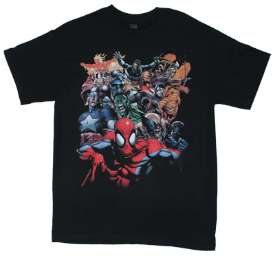 Spider-Man Crew - Marvel Comics T-shirt