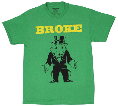 Broke - Monopoly T-shirt