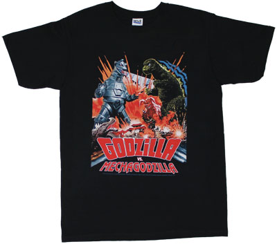 Godzilla Vs MechaGodzilla - Godzilla T-shirt