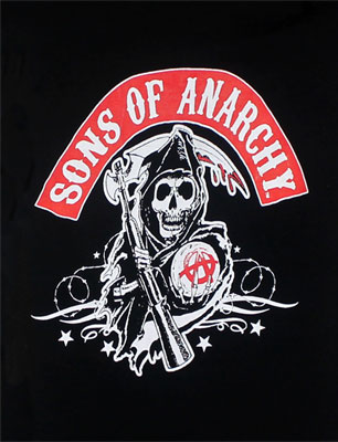 Sons Of Anarchy Juniors Faux Hockey Jersey