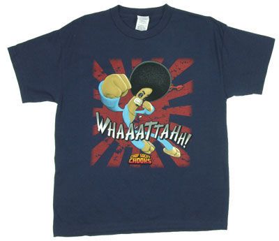 Whaaattahh! - Chop Socky Chooks Boys T-shirt