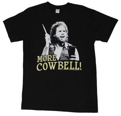 More Cowbell - Saturday Night Live Sheer T-shirt