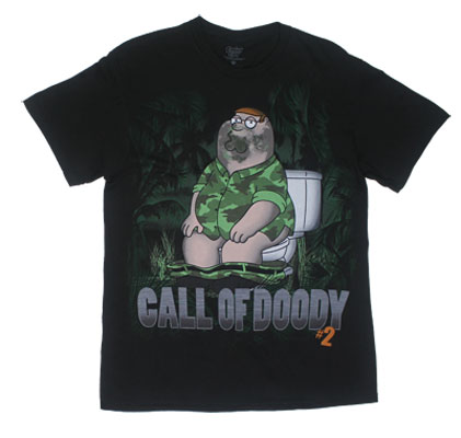 Call Of Doody - Family Guy T-shirt