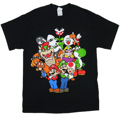 Character Group - Nintendo T-shirt