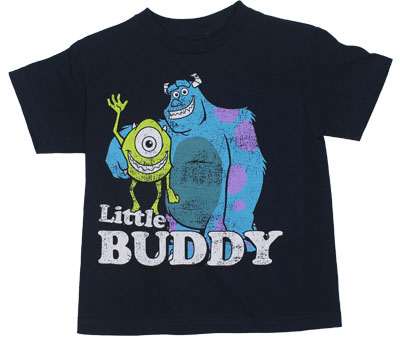 Little Buddy - Monsters Inc Juvenile T-shirt