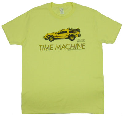 Time Machine - Back To The Future T-shirt