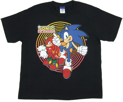 The Heroes - Sonice The Hedgehog Boys T-shirt