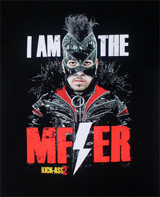 I Am The MF-ER - Kick-Ass T-shirt