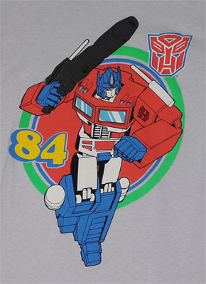 Optimus 84 - Transformers T-shirt