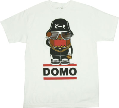 Hip Hop Domo - Domo-Kun T-shirt