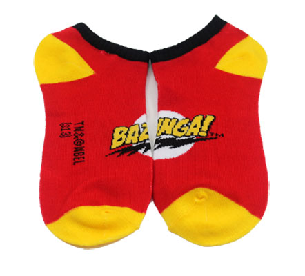 Bazinga! - Big Bang Theory Ankle Socks
