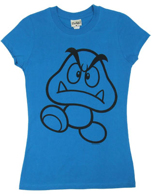 Goomba - Nintendo Sheer Women&#039;s T-shirt