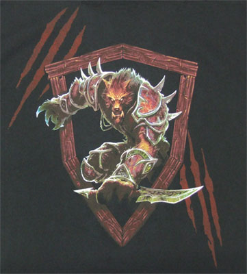 Worgen - World Of Warcraft T-shirt