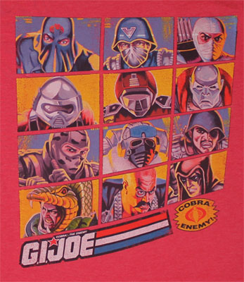 Commandos - G.I. Joe Sheer T-shirt