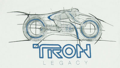 Tron Legacy Sheer T-shirt